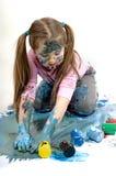 Color paints Stock Image