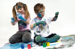Color paints Royalty Free Stock Images