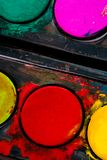 Color paints Stock Photography