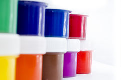 Color paints Royalty Free Stock Photos