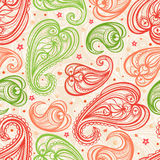 Color paisley Stock Image