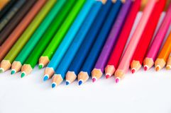 Color palate on white screen. With light and shadow royalty free stock photo