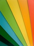 Color palette. With rain drops stock photo