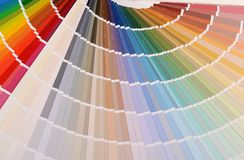 The color palette as a background Royalty Free Stock Photo