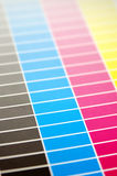 Color palette background Stock Photography
