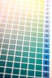 Color palette background Stock Image