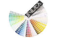 Color palette. With big spectrum of colors, stock picture stock image