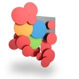 Color palette concept Stock Images