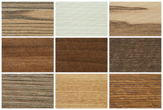 Color palette for furniture. Chipboards, color palette and texture for furniture Royalty Free Stock Images