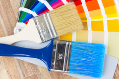Color palette guide Stock Image