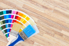 Color palette guide Royalty Free Stock Images