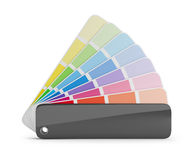 Color palette. Guide. 3d image. White background Royalty Free Stock Photography