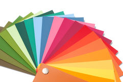 Color palette royalty free stock image