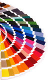 Color palette, guide of paint samples catalog, color chart Royalty Free Stock Image