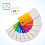 Color palette icon Stock Images