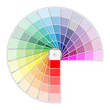 Color Palette Icon Stock Photo
