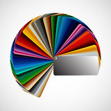 Color palette Royalty Free Stock Photo