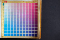Color palette. Royalty Free Stock Photography