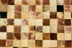 Color palette picker of carpet textile fabrics Royalty Free Stock Photo