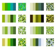 Color palette set background. Harmony color combos spectrum.  Royalty Free Stock Photography