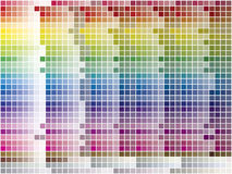 Color Palette Tiled Background Royalty Free Stock Photo