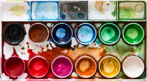 Color palette Stock Photography