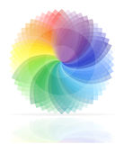 Color palette vector illustration Royalty Free Stock Photo