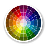 Color Palette. On the white background Royalty Free Stock Images