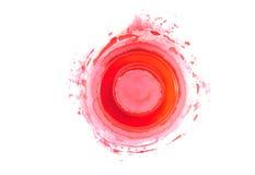 color paletten röd Royaltyfria Foton