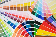 Color palettes Royalty Free Stock Photo