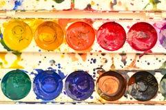Color pallete Stock Photos