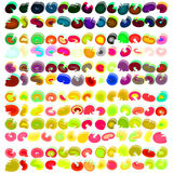 Color pallette Royalty Free Stock Photography