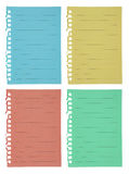 Color paper Royalty Free Stock Image