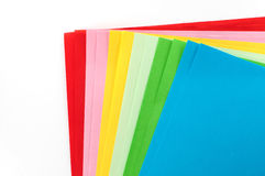Color Paper Stock Photography