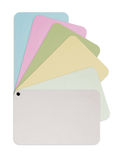 Color Paper Card Royalty Free Stock Photos