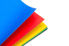 Color paper and empty space for your text Royalty Free Stock Photos