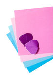 Color paper Royalty Free Stock Photo