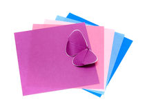 Color paper Stock Photos