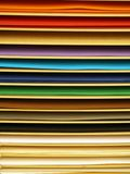 Color paper pages Stock Photography