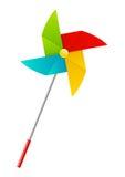 Color paper pinwheel Royalty Free Stock Photos