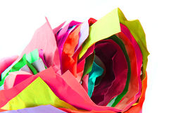 color paper roll background Stock Photo