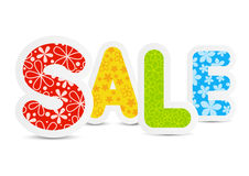 Color paper sale message for Your design Royalty Free Stock Images