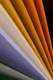 Color paper variety Royalty Free Stock Image