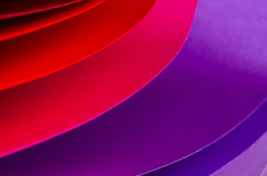 Color paper variety Royalty Free Stock Photo