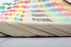 Color papers Royalty Free Stock Photo