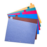 Color papers Stock Photos