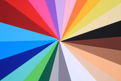 Color papers background Royalty Free Stock Photo