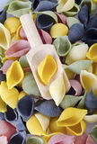Color pasta Stock Photo