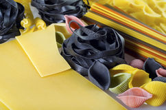 Color pasta Royalty Free Stock Images