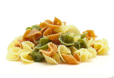 Color pasta Stock Photography